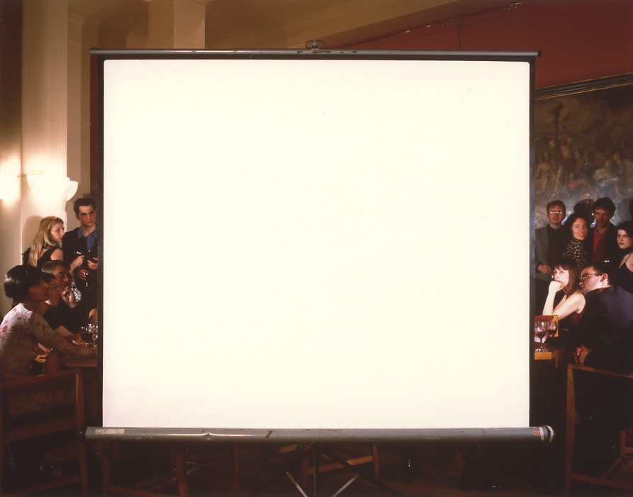 John HILLIARD Off Screen (3), large study, 1999 Cibachrome on museum board 78 x 93 cm 1/3