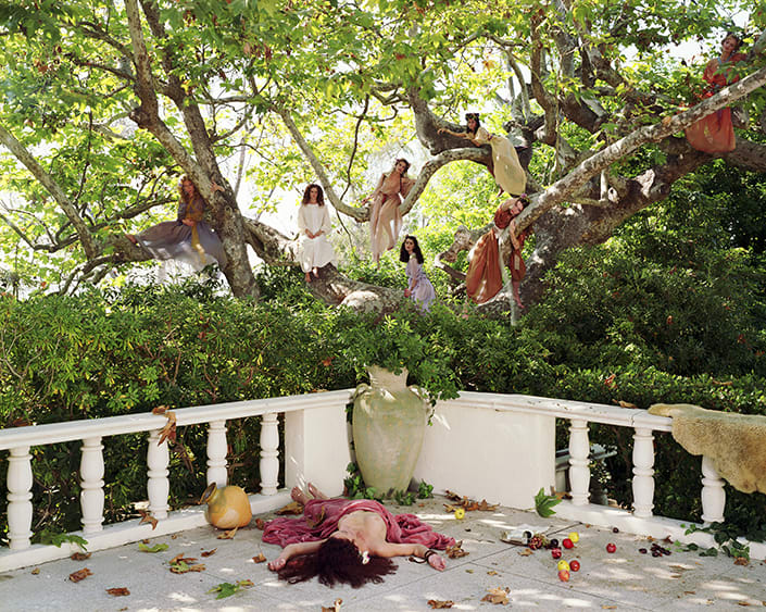 """Eleanor ANTIN The Tree from """"The Last Days of Pompeii"""", 2001 Chromogenic print mounted on board 60.5 x 75.5 x 5 cm AP of Edition of 3 + 1 AP"""