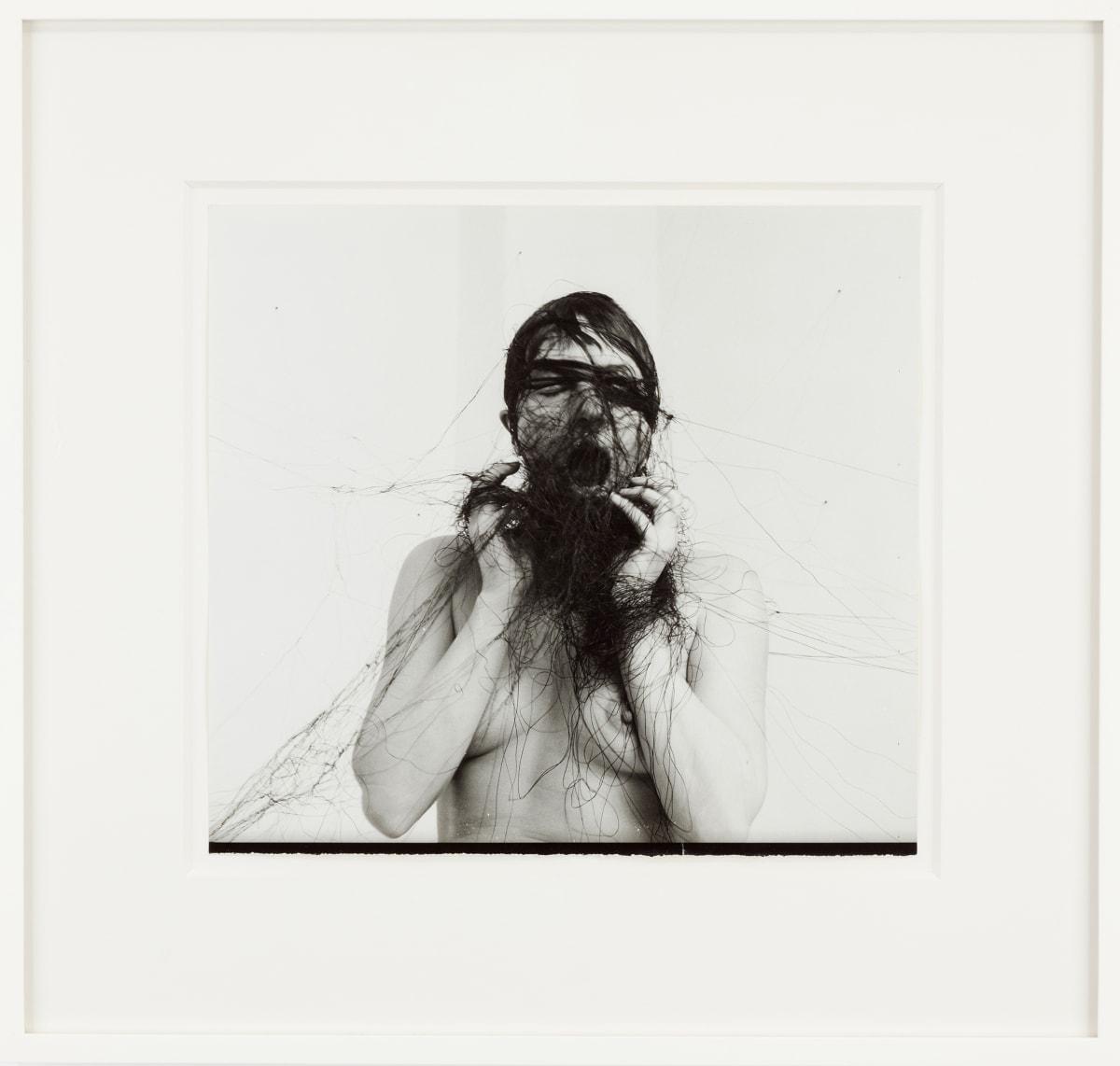 Annegret SOLTAU Permanent demonstration am 19.1.1976, 1976 Gelatin silver print 27.5 x 31 cm