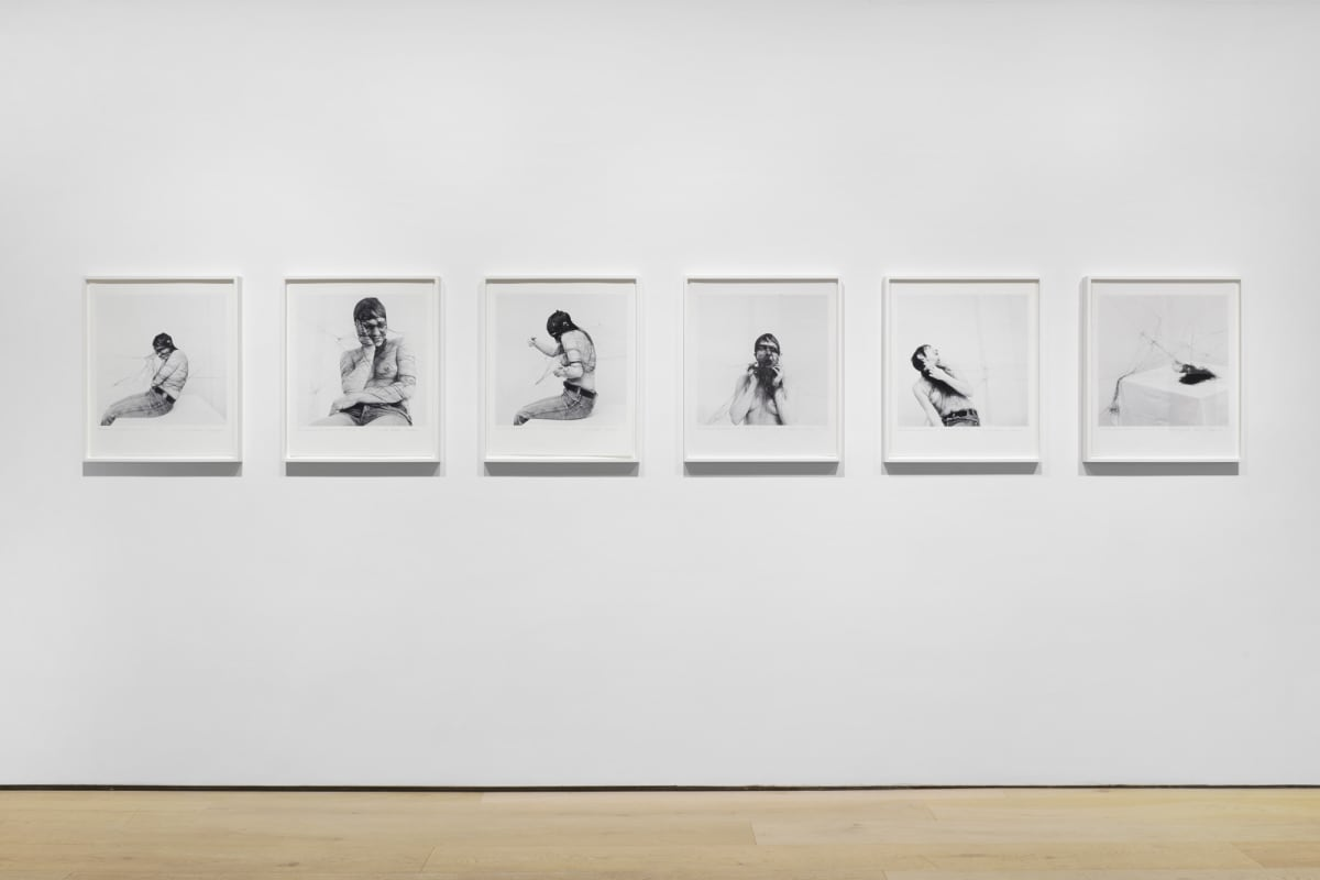 Annegret SOLTAU Permanente Demonstration am 19.01.1976, 1976/2008 Set of 6 black and white photo etchings Each: 60 x 50 cm Edition 1 of 5 (plus 2 AP)