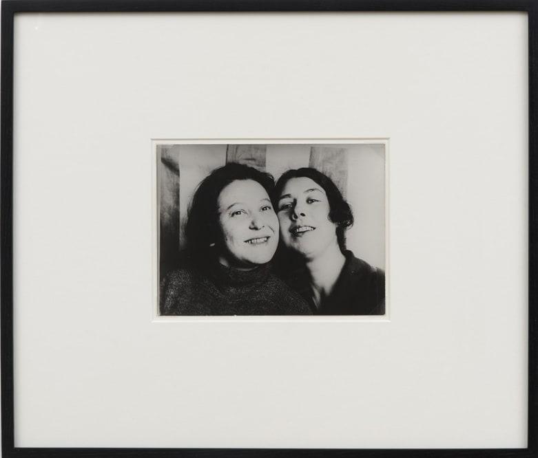 Alexander RODCHENKO 'Constructivist Stepanova and Popova', 1924 Black and white photograph 18 x 24 cm