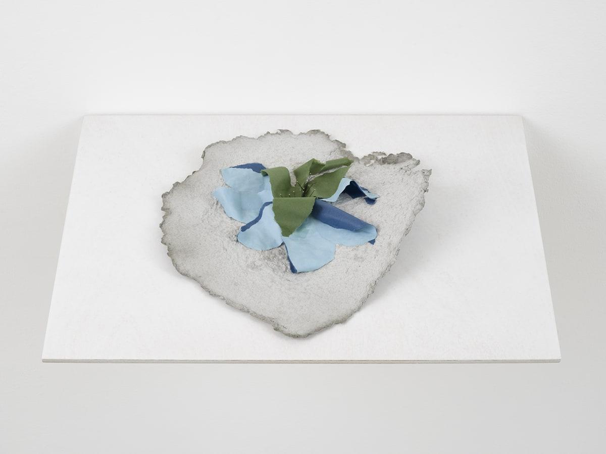 Lili DUJOURIE Ballade - Hepatica, 2011 Papier-mâché 30 x 34 x 6.5 cm