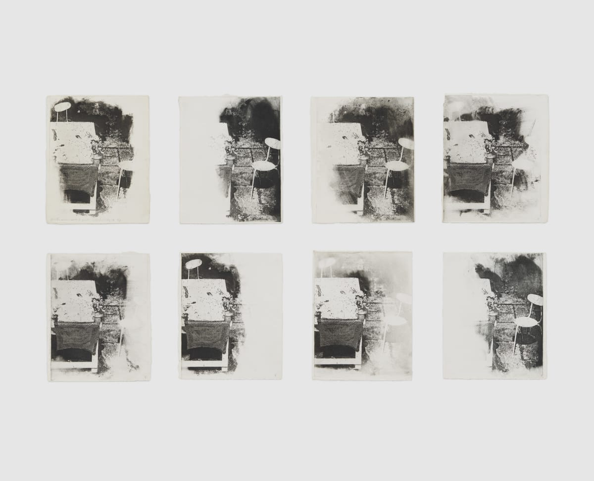 Shelagh WAKELY Another person's garden III, 1975 Set of 8 etchings Each 25 x 20 cm Edition, 'AP'