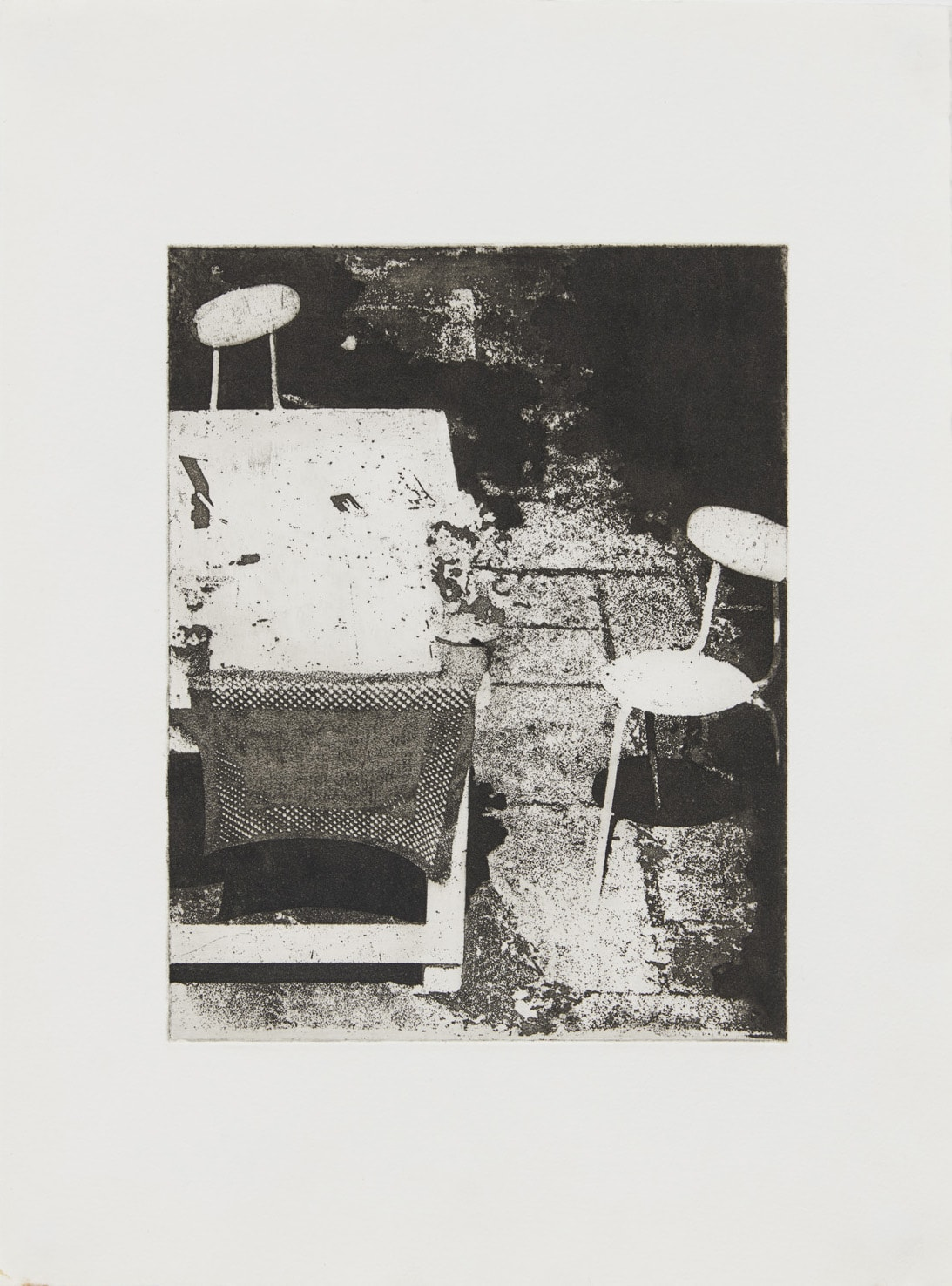 Shelagh WAKELY Another person's garden II, 1975 Etching 40 x 29.7 cm