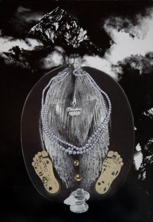 Penny SLINGER Coco de Mer, 1976 Photo collage on board 41.9 x 29.5 cm