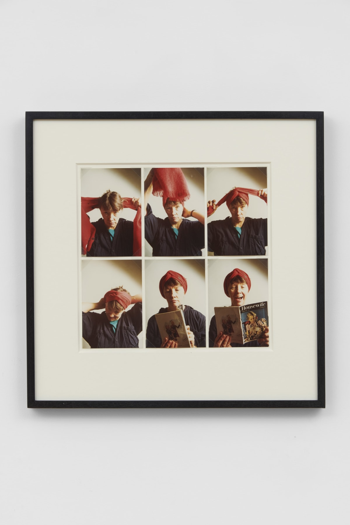 Jo SPENCE Photo Therapy: My Mother as a House Wife, 1986-88 6 colour photographs 14.8 x 10 cm each