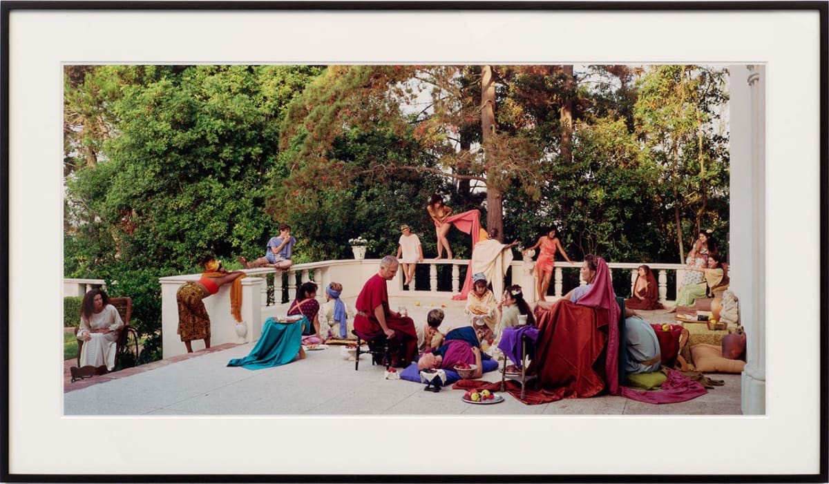 "Eleanor ANTIN The Slave Sale from ""The Last Days of Pompeii"", 2002 Chromogenic print 51 x 102 cm Edition 1 of 3"