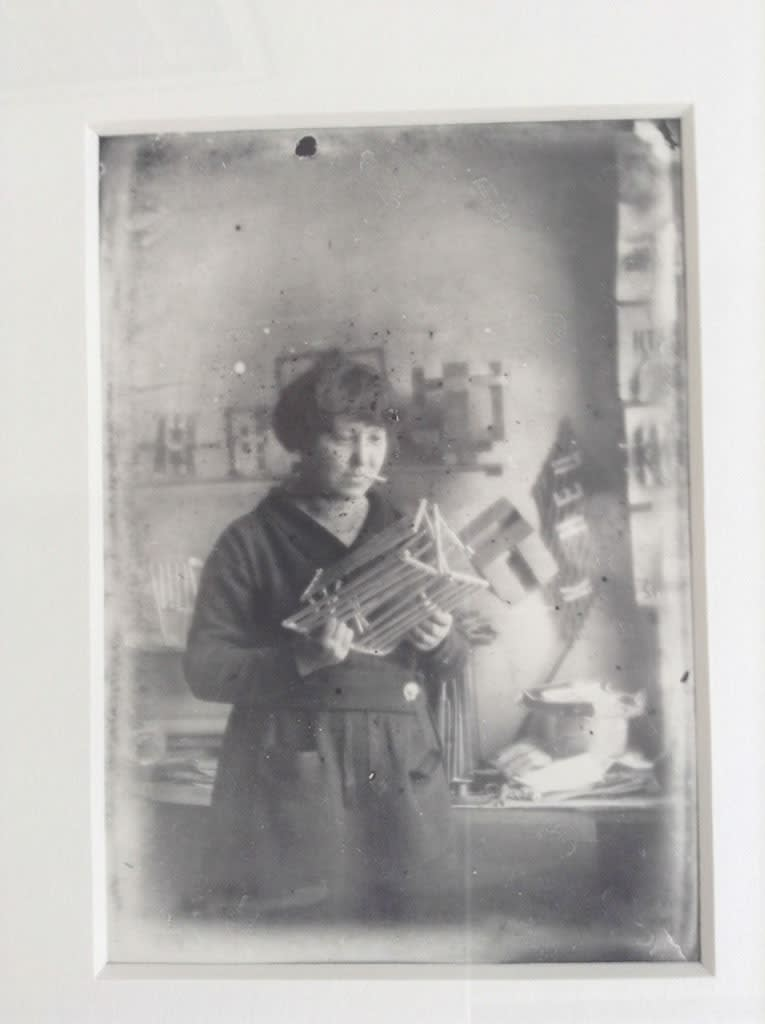 Alexander RODCHENKO Varvara Stepanova, 1924 Period gelatin silver print 5.1 x 3.5 in 12.95 x 8.89 cm