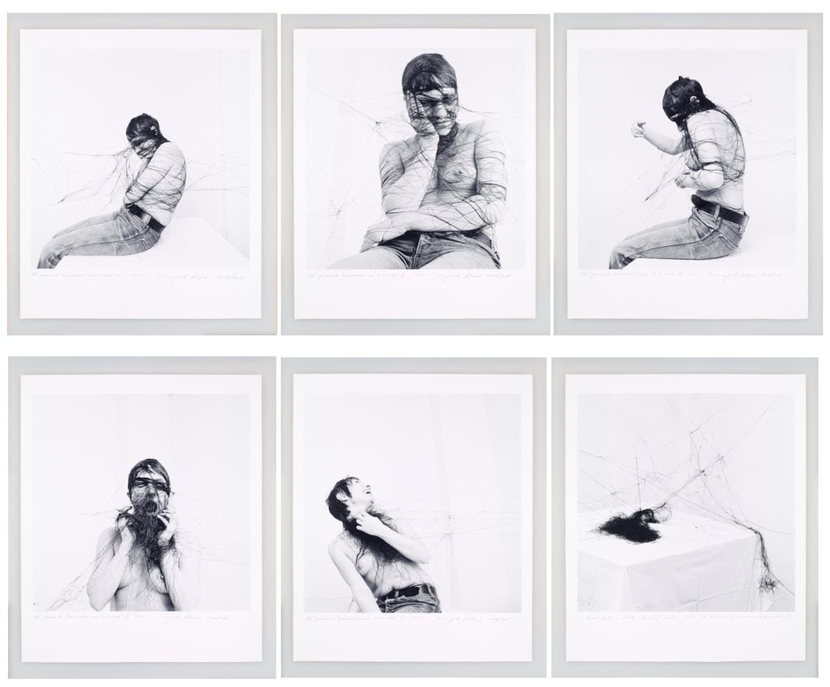 Annegret SOLTAU Permanente Demonstration am 19.01.1976, 1976/2008 Set of 6 black and white Iris print photographs Each: 60 x 50 cm Edition 1 of 5 (plus 2 AP)