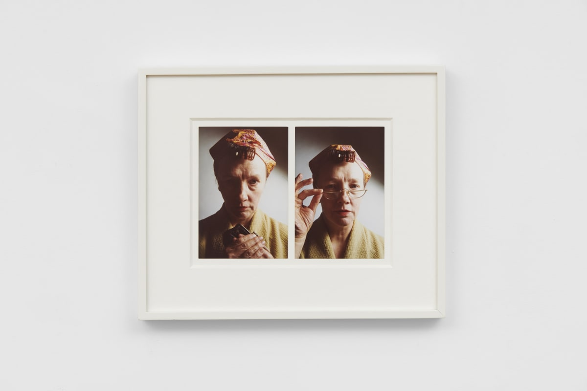 Jo SPENCE Photo Therapy: Late mother, 1986-88 2 colour photographs 14.9 x 10.1 cm each