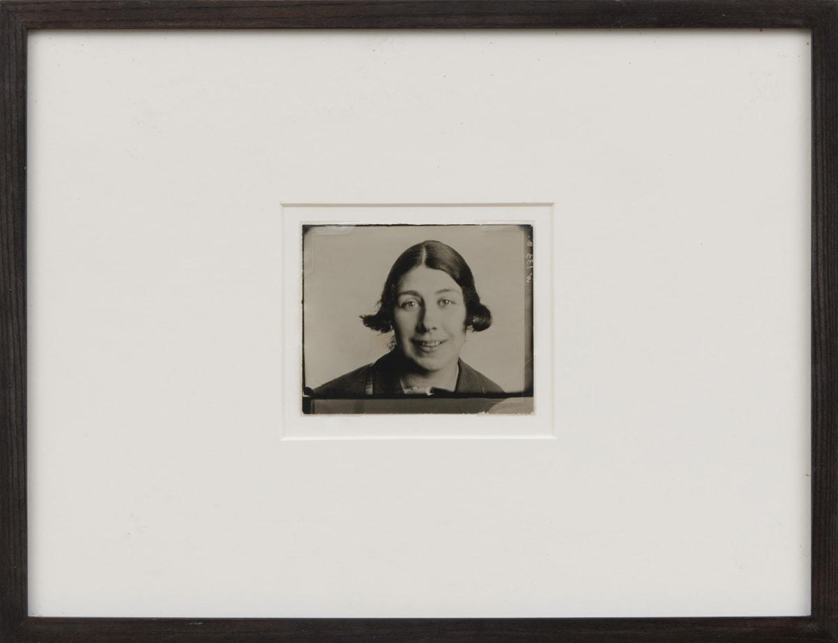 Alexander RODCHENKO Liubov Popova, 1924 Black and white photograph, printed c 1950/1960 9.6 x 11.6 cm
