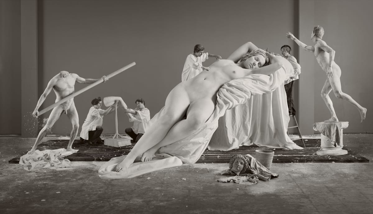 "Eleanor ANTIN Constructing Helen from ""Helen's Odyssey"", 2007 Chromogenic print 155 x 269 x 7.6 cm Edition 5 of 5"