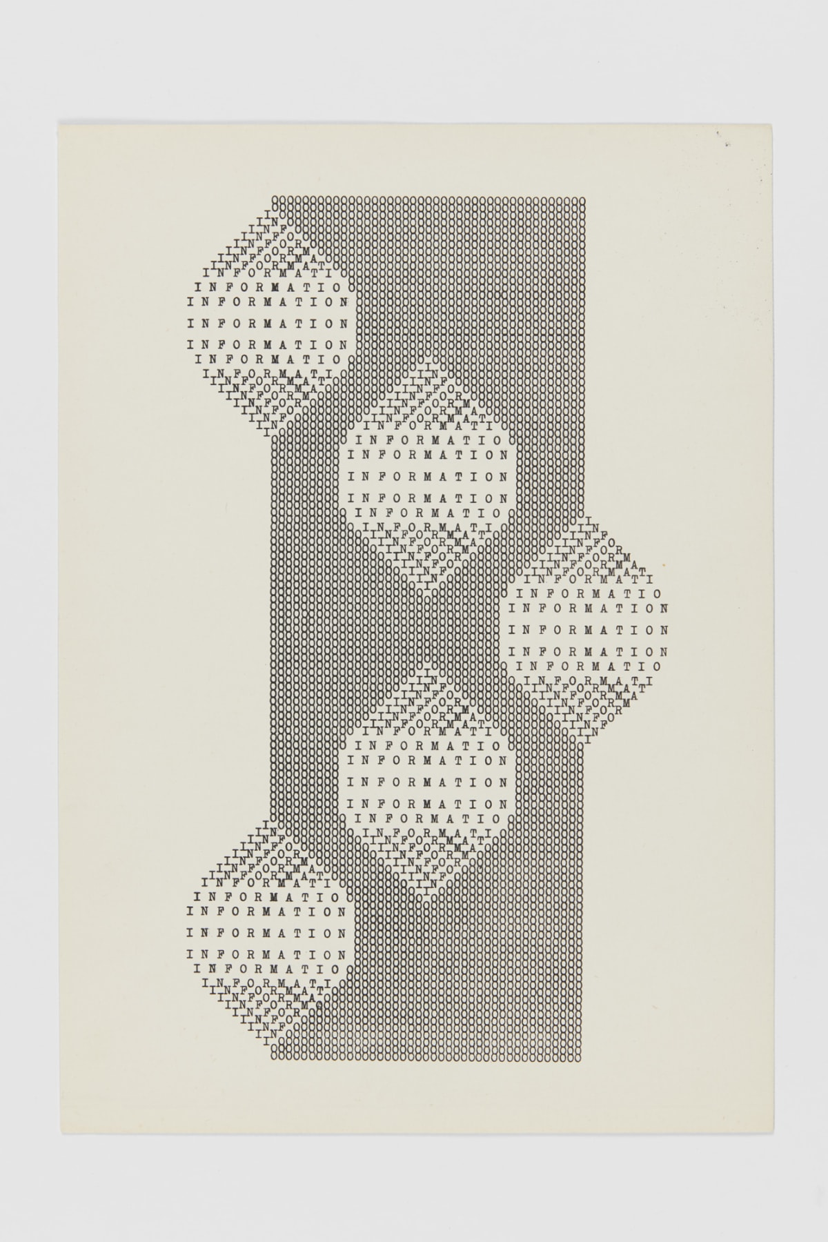 Ruth WOLF-REHFELDT Information Bildung, c.1980 print (zinc lithograph) 29.9 x 21.1 cm