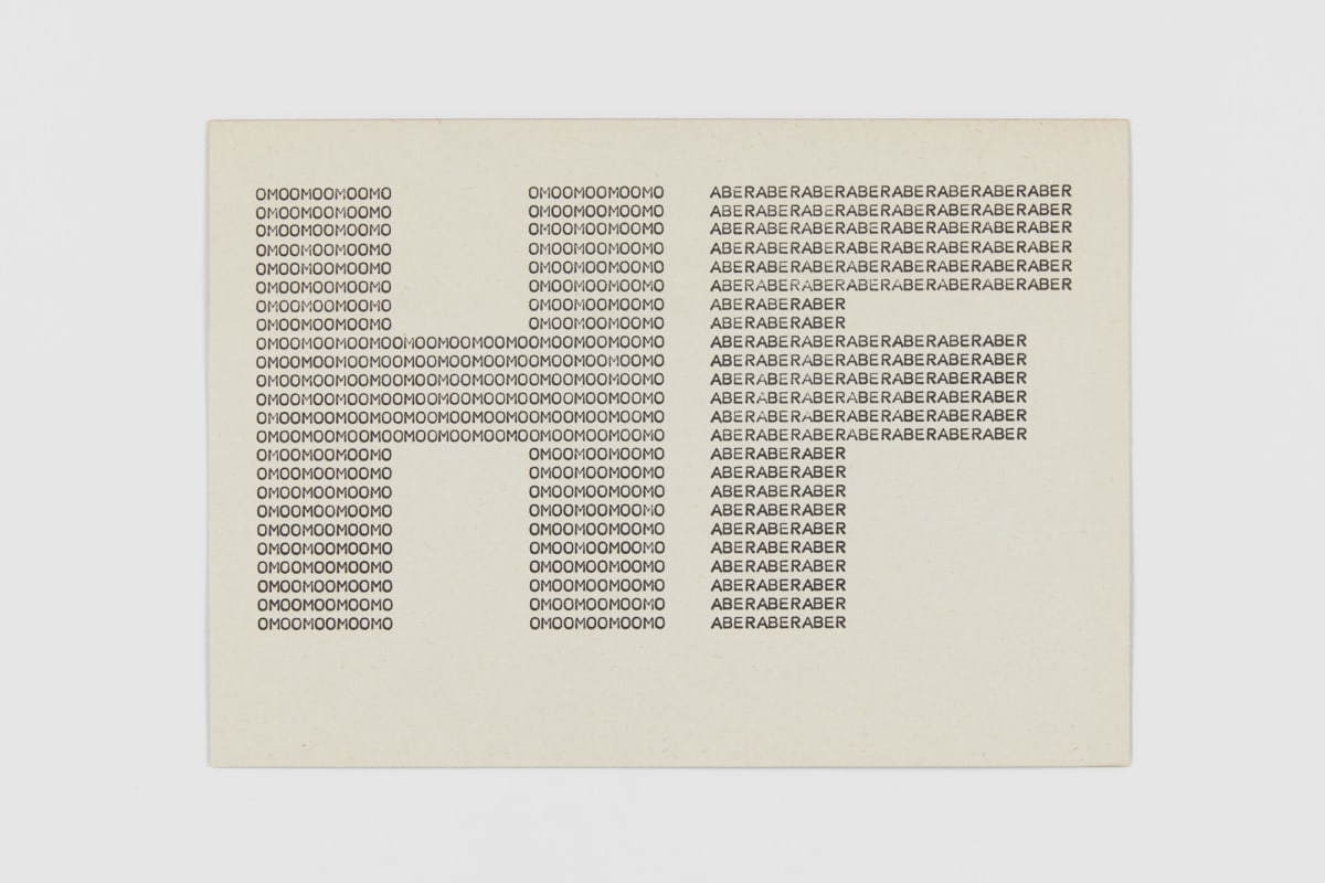 Ruth WOLF-REHFELDT HF: Moon Rabe, c.1980 print (zinc lithograph) 14.7 x 20.9 cm