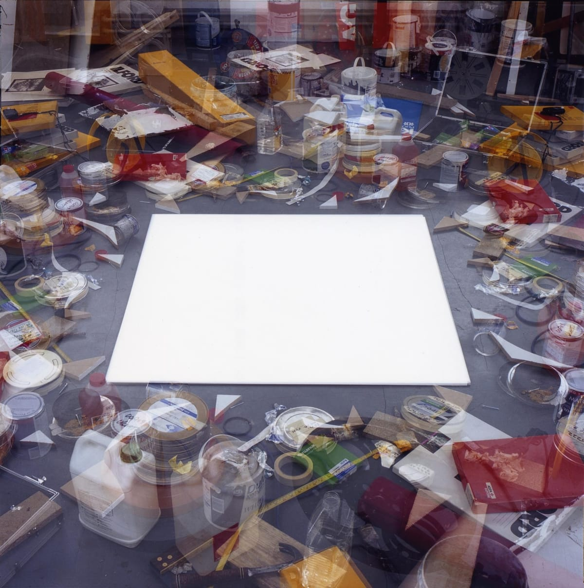 John HILLIARD Division of Labour, 2004 C-type print on aluminium 125 x 125 cm