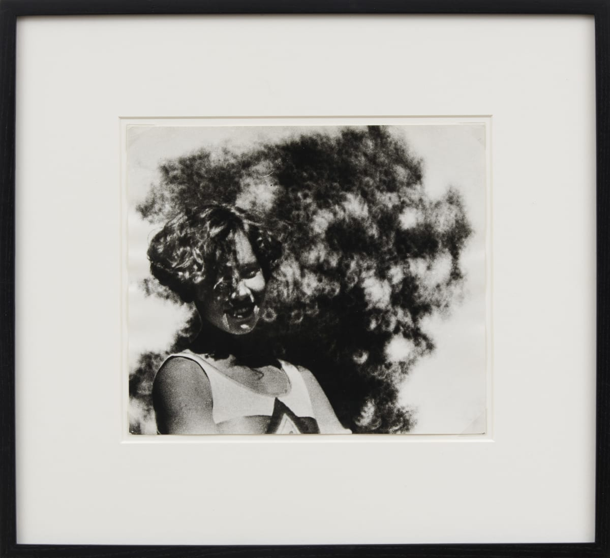 Alexander RODCHENKO Bunch of flowers, 1936 Black and white photograph 23.4 x 27.5 cm