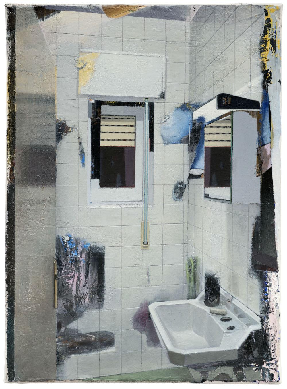 Carlos Sagrera Small Bathroom 2019 Rutger Brandt Gallery