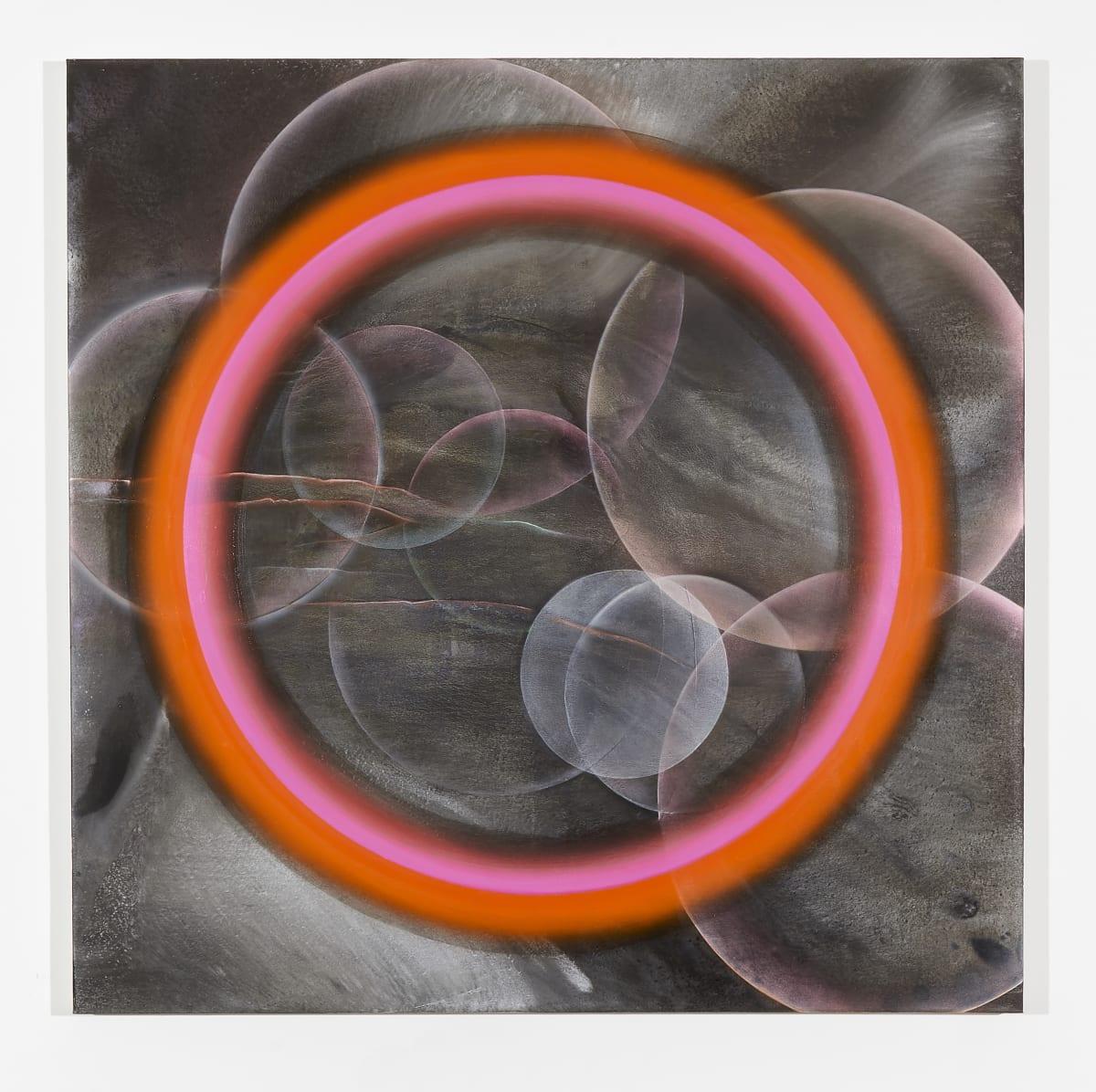 Marion Borgelt Exploding Stars with Binary Halo, 2019 oil, acrylic on canvas 120 x 120 cm