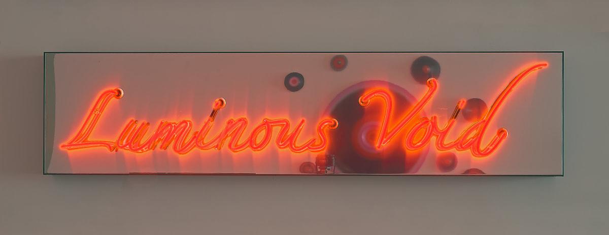 Marion Borgelt Luminous Void, 2019 neon, acrylic box frame, reflective backing 50 x 210 x 7cm