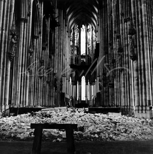Lee Miller, Cologne Cathedral, Cologne, Germany, 1945