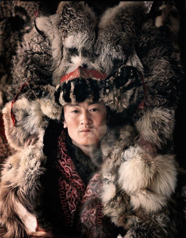 Jimmy Nelson, Khan La Kahn, Ulaankhus, Bayan Ulgii Province, Mongolia, 2011