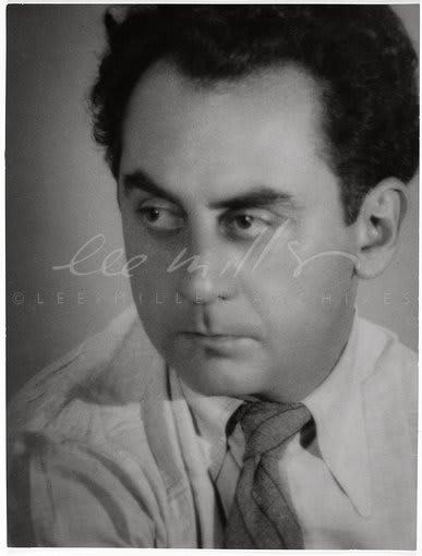 Lee Miller, Portrait of Man Ray, Paris, France, 1931