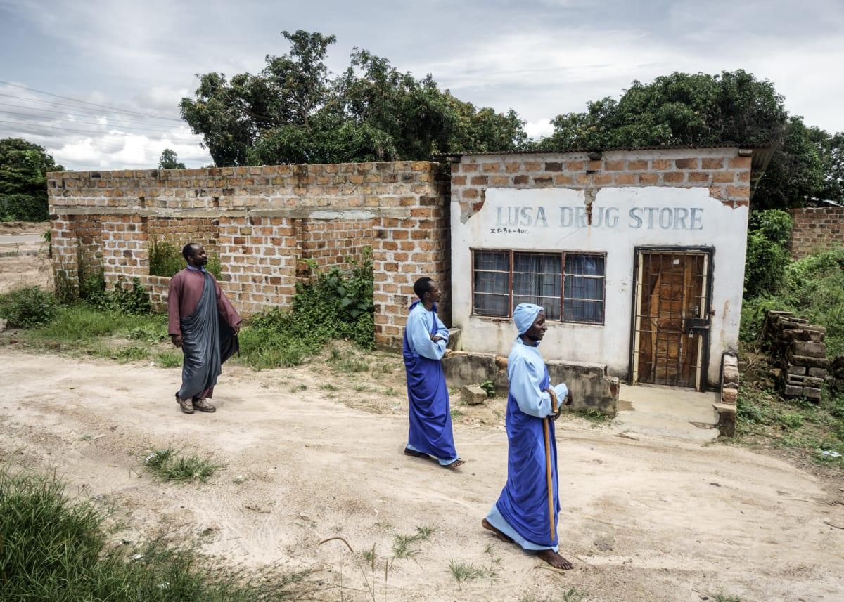 Jonas Bendiksen, Jesus and disciples, Zambia, 2016