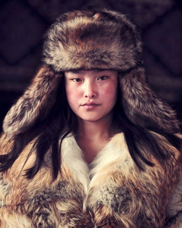 Jimmy Nelson, Meruert Sagsal, Bayan Ulgii Province, Mongolia, 2017
