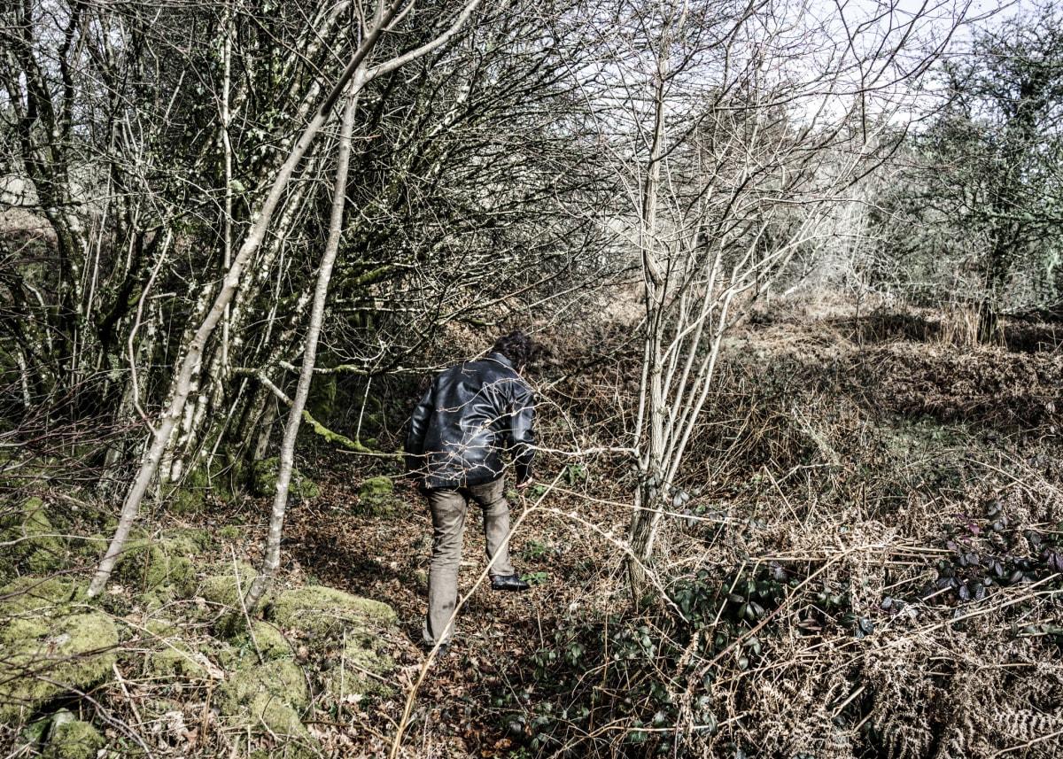 Jonas Bendiksen, David in the woods, UK, 2015