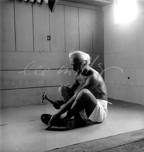 Lee Miller, Max Ernst, Sedona, Arizona, USA, 1946