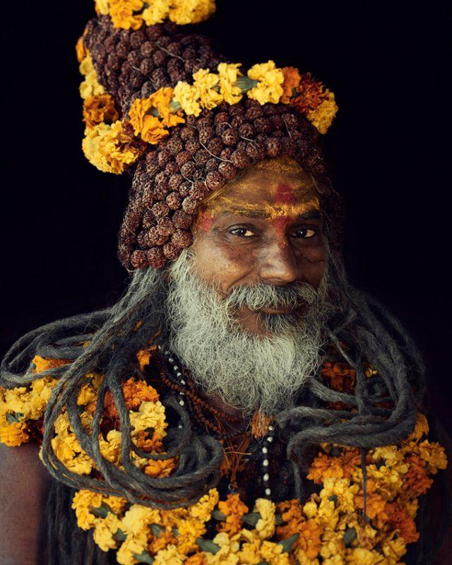 Jimmy Nelson, Sadhus, Haridwar, India, 2016