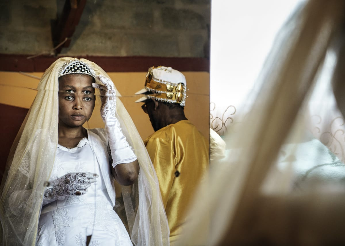 Jonas Bendiksen, Angel, the bride, South Africa, 2016