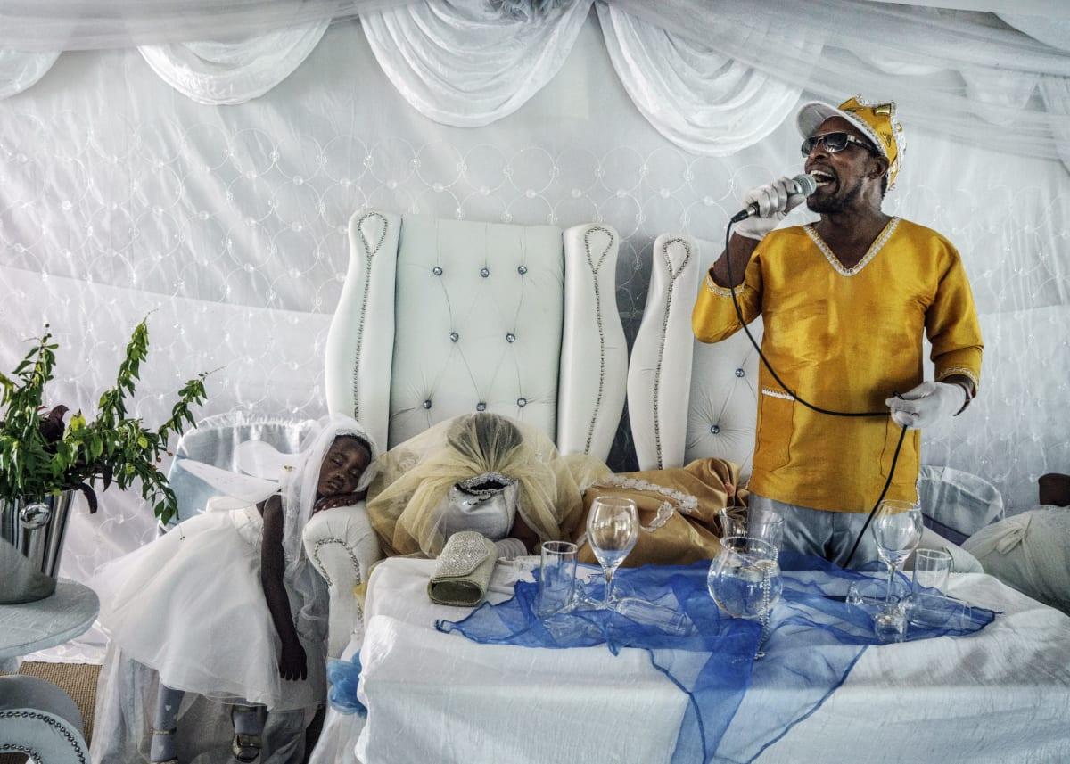 Jonas Bendiksen, Moses preaching to his followers, South Africa, 2016