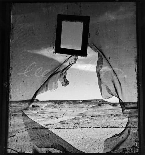 Lee Miller, Portrait of Space, Al Bulwayeb, Nr. Siwa Egypt, 1937
