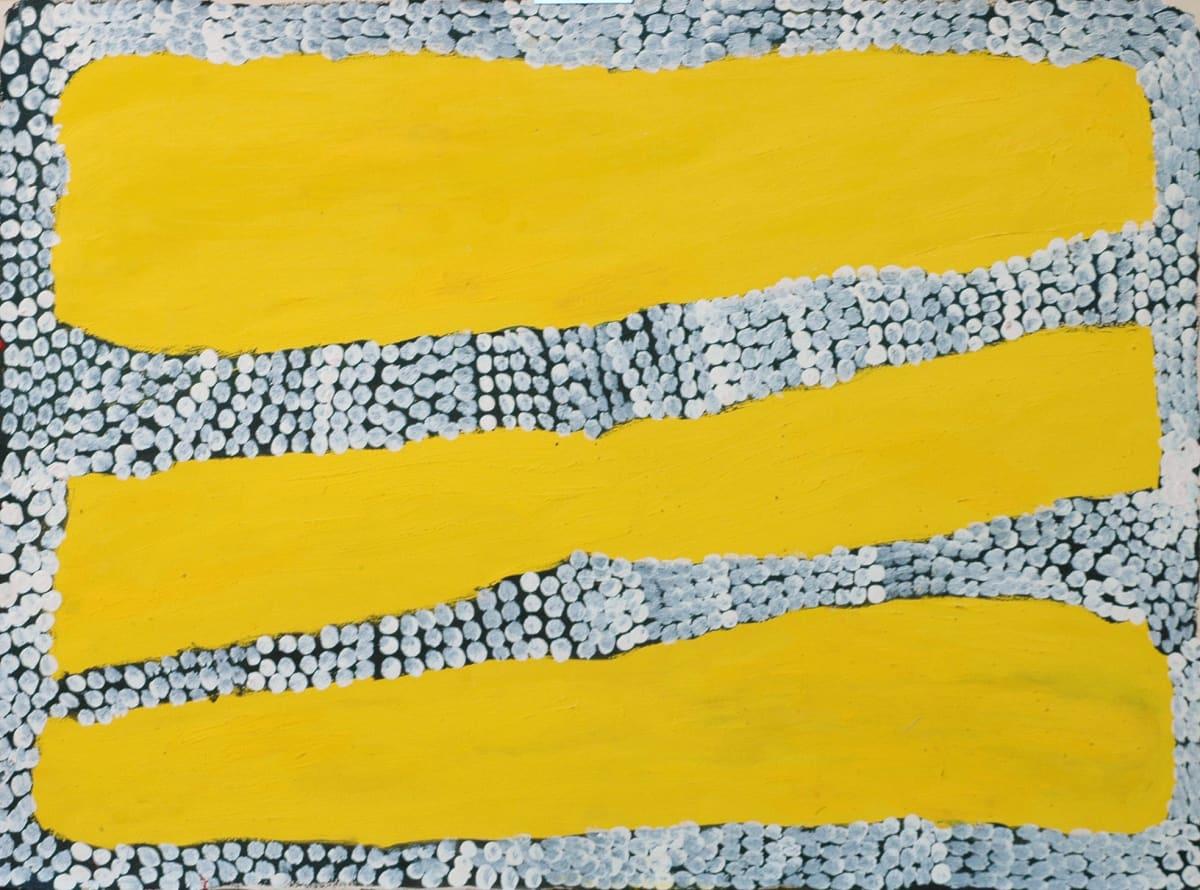 Cory Wakartu Surprise Jilji acrylic on paper 56 x 76 cm