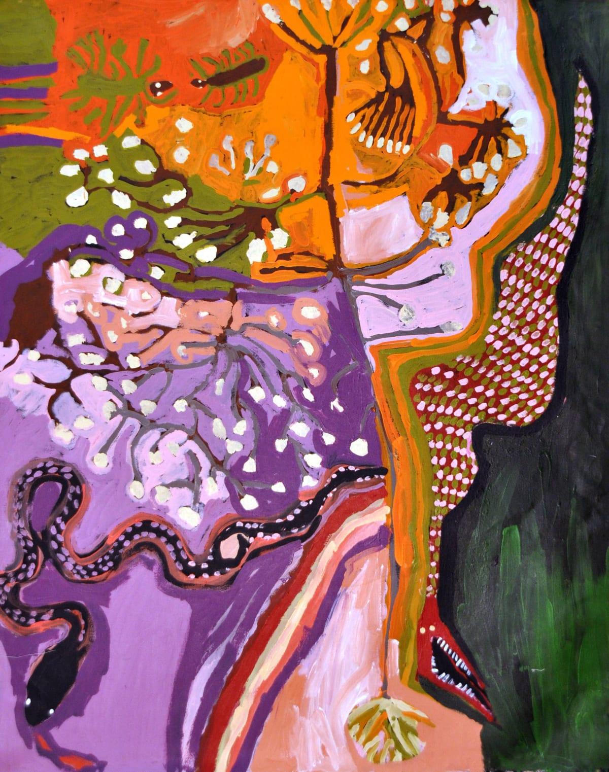 Barney Wangin Ngayuku ngura- My Country acrylic on linen 122 x 152 cm