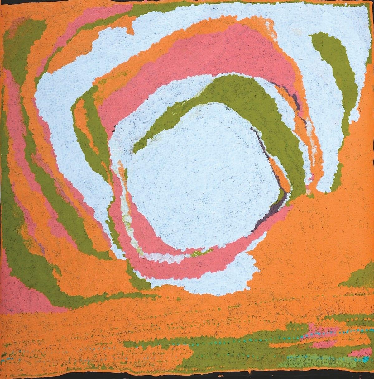 Alma Webou (Kalaju) Pinkalarta acrylic on linen 120 x 120 cm