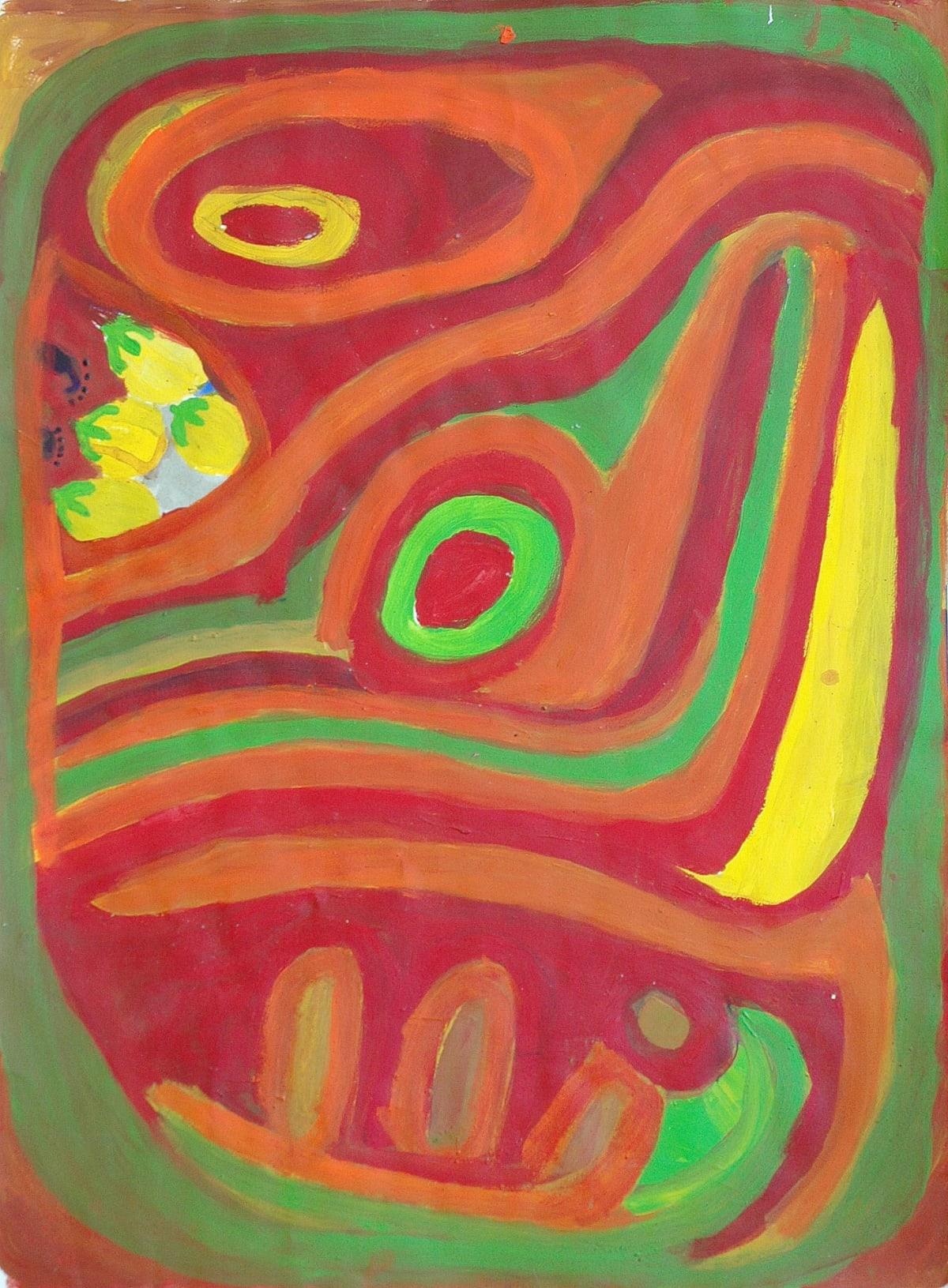 Stumpy Brown (Nyuju) Nyila acrylic on paper 56 x 76 cm