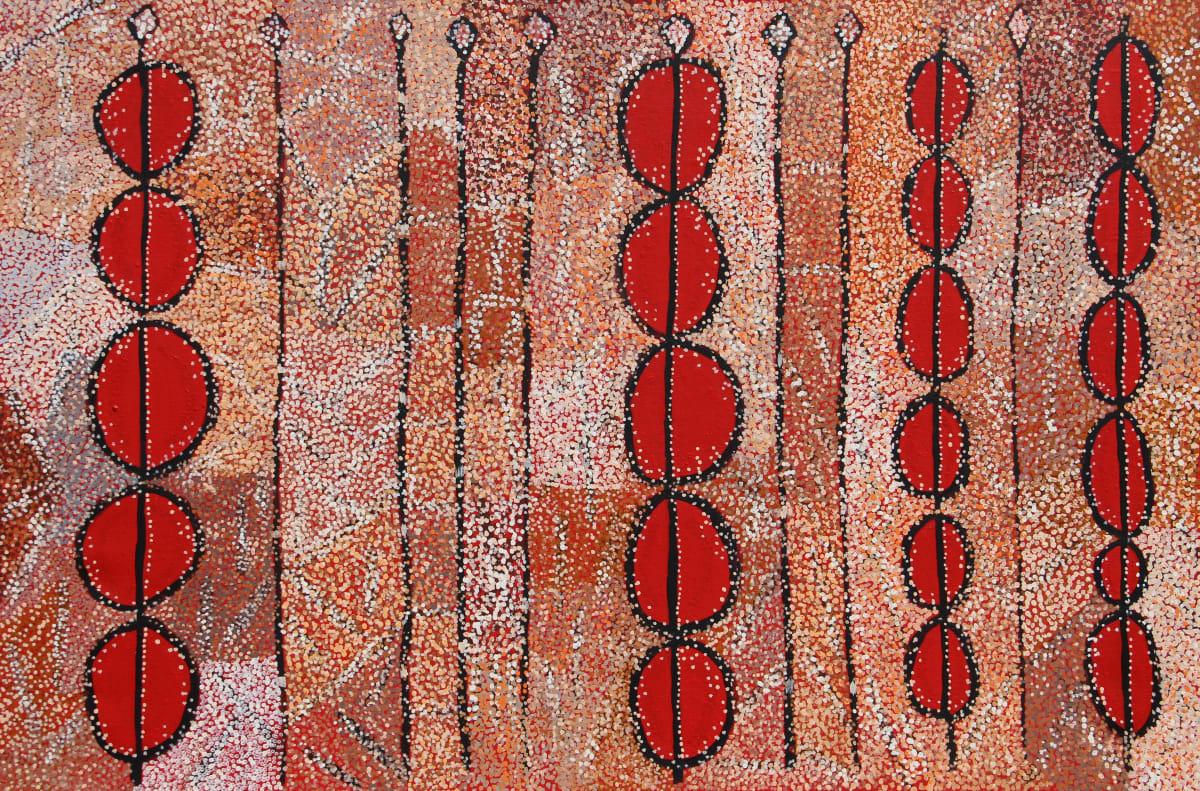 David Pearson Ngura (Country) acrylic on linen 112 x 167 cm