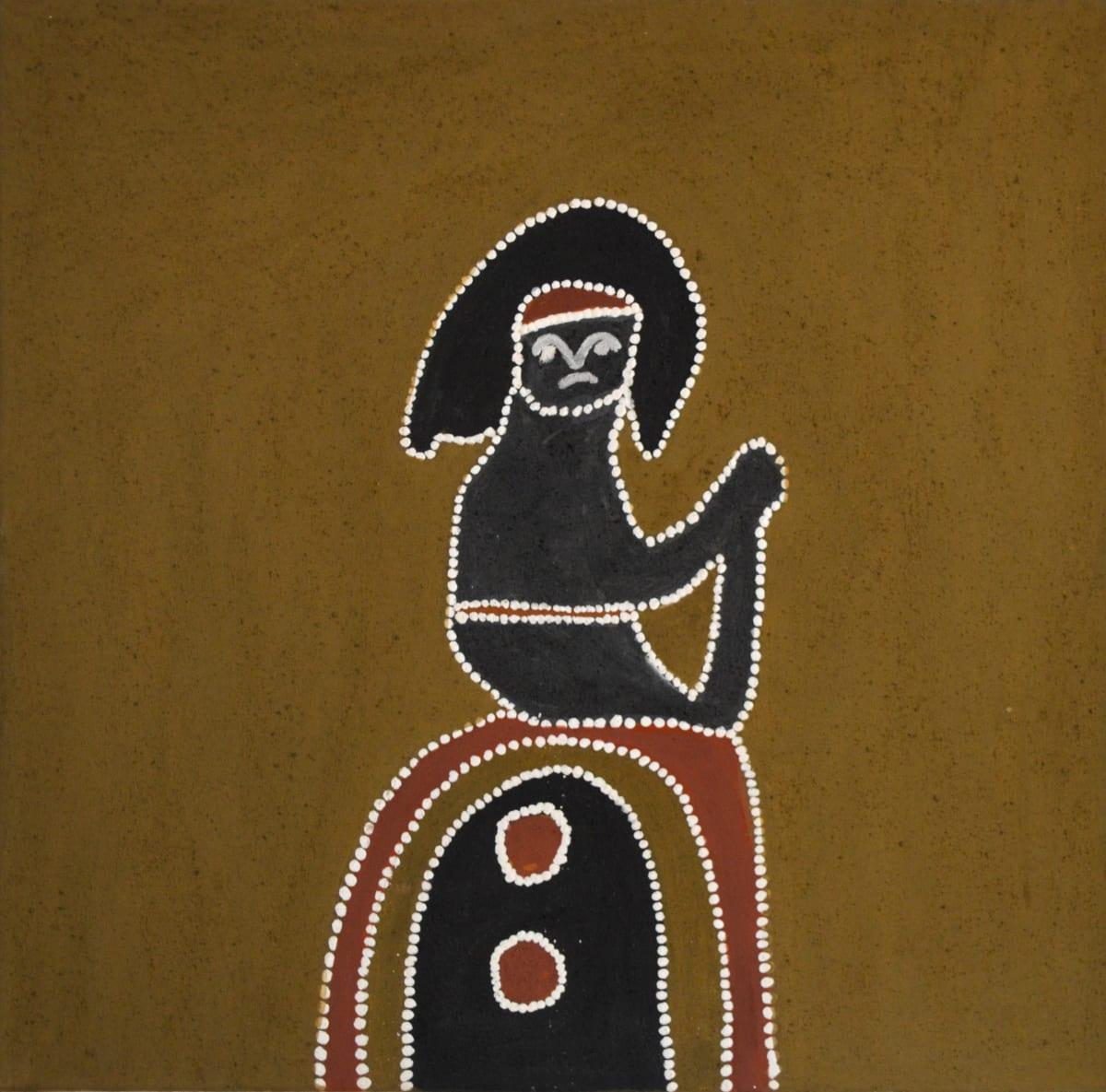 Mabel Juli MARRANYJI DU JIYIRRINY natural ochre and pigments on canvas 80 x 80 cm