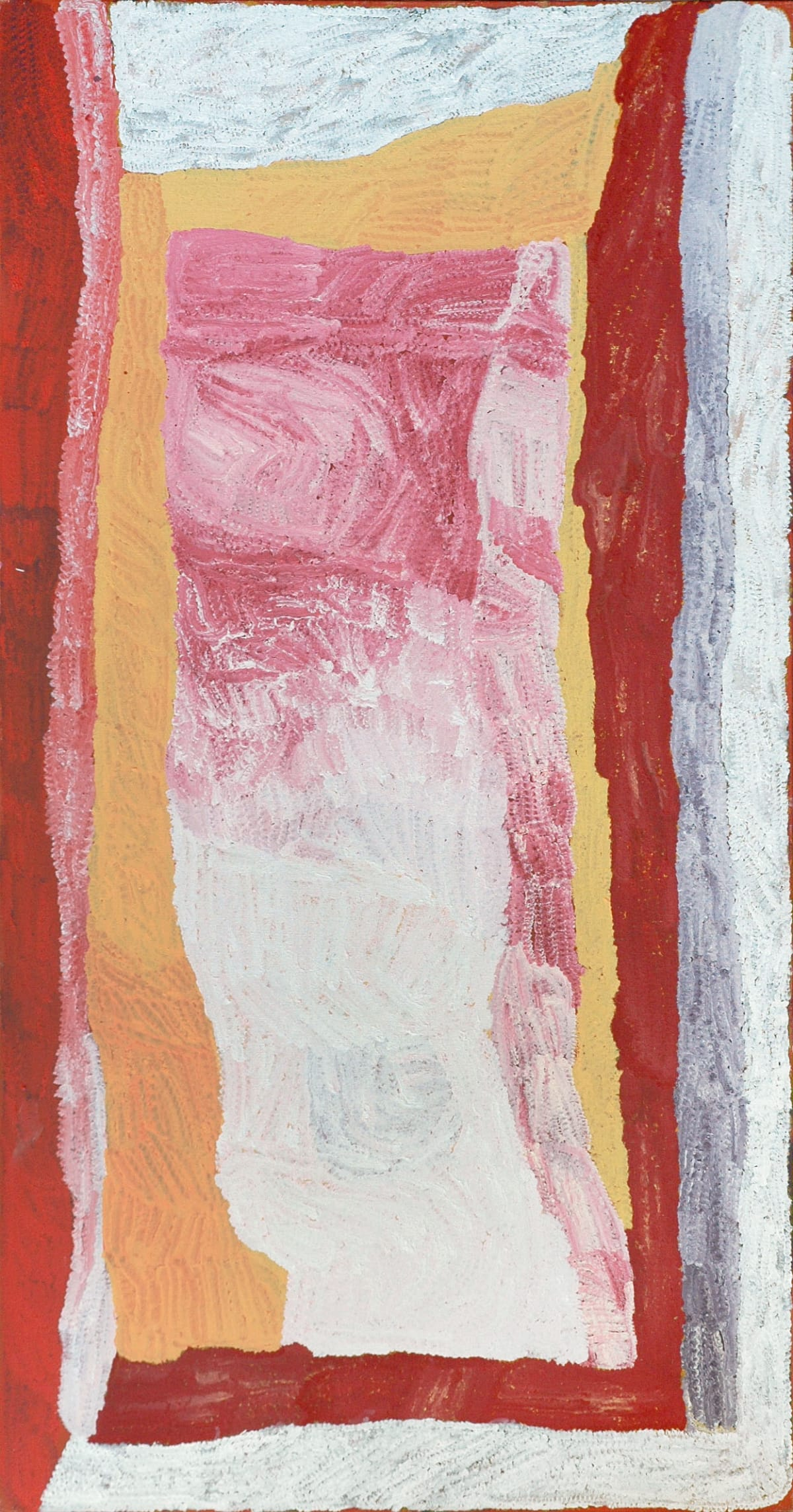 Lydia Balbal Jawani Jawani acrylic on linen 95 x 180 cm