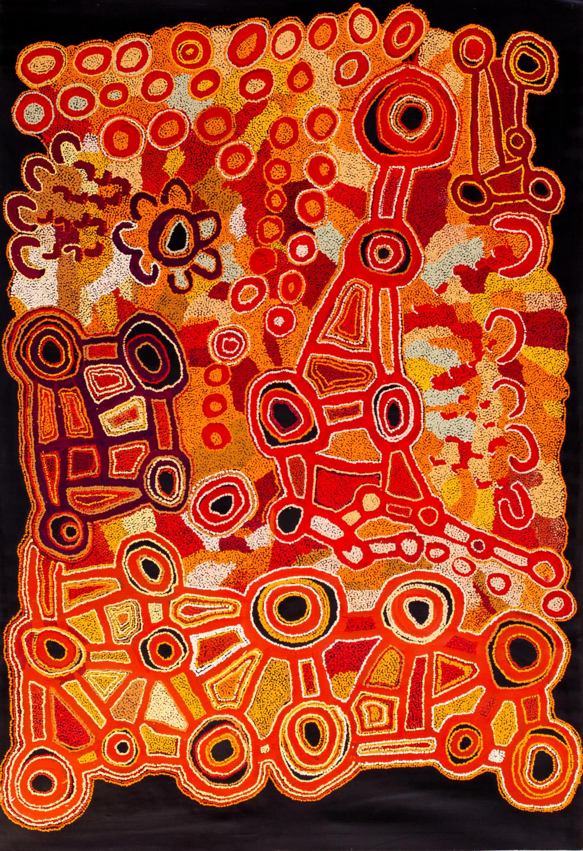 Ngalpingka Simms Wayiyul, 2019 Acrylic on linen 200 x 137 cm
