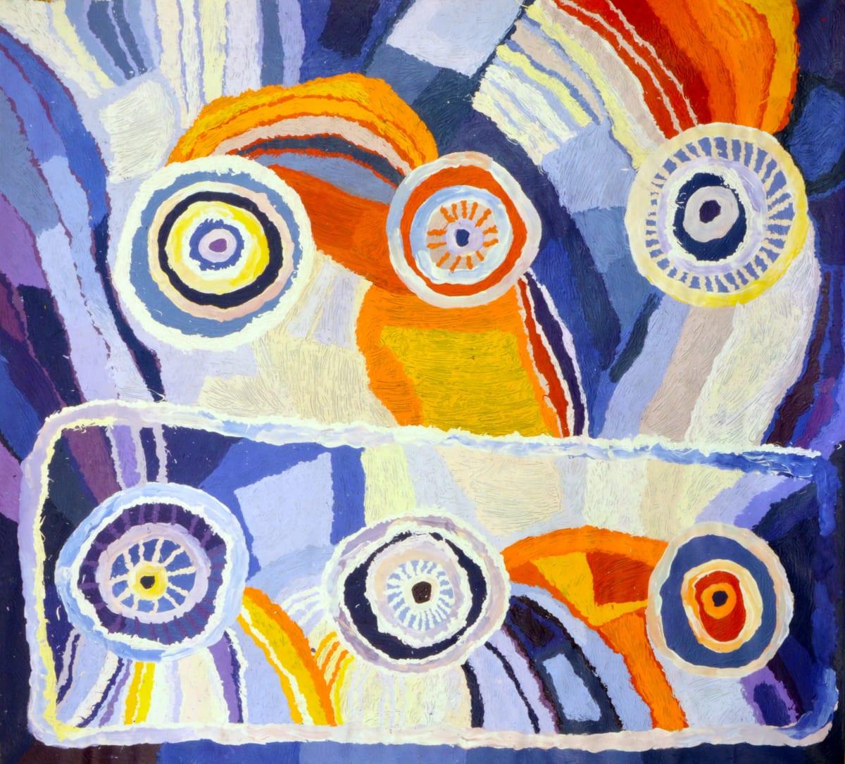Beryl Jimmy Nyangatja Watarru acrylic on linen 180 x 200 cm