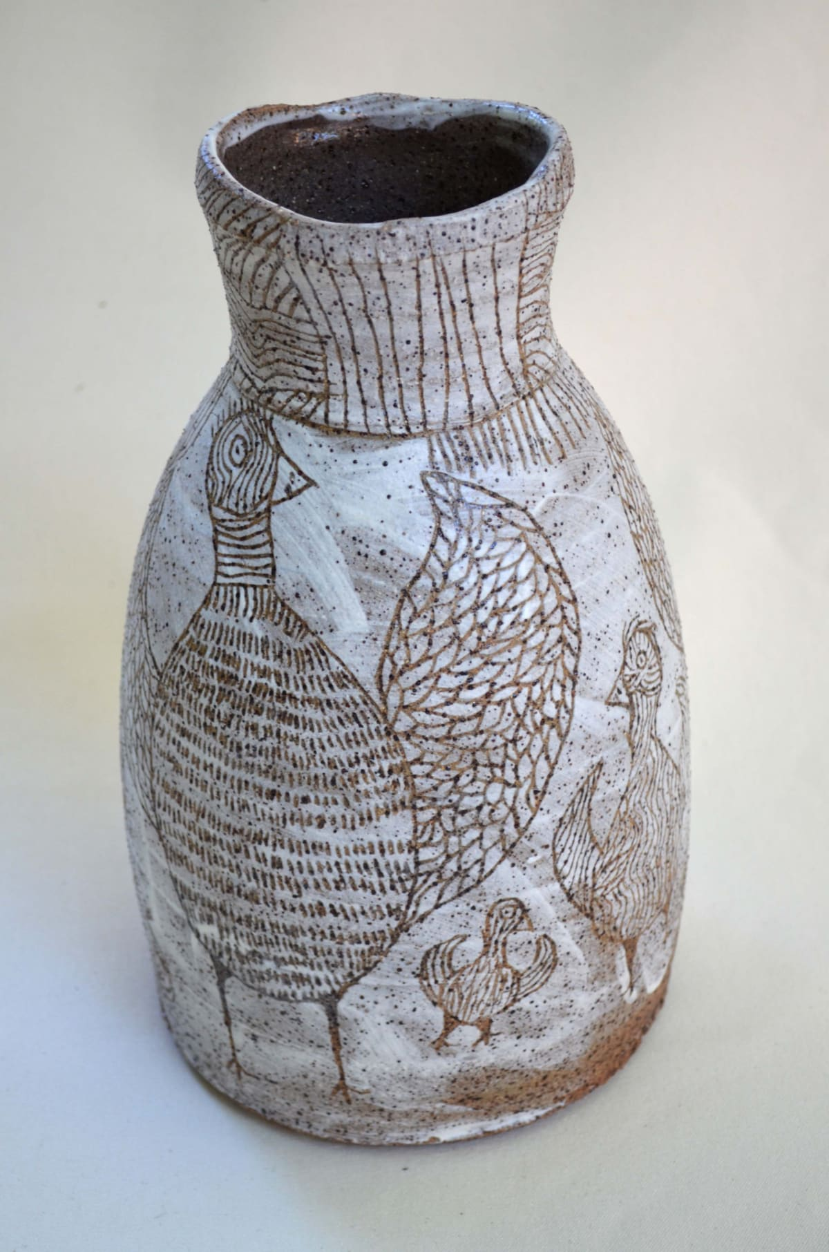 Carlene Thompson Tjulpu Kulunypa Stoneware 33 x 20.5 cm