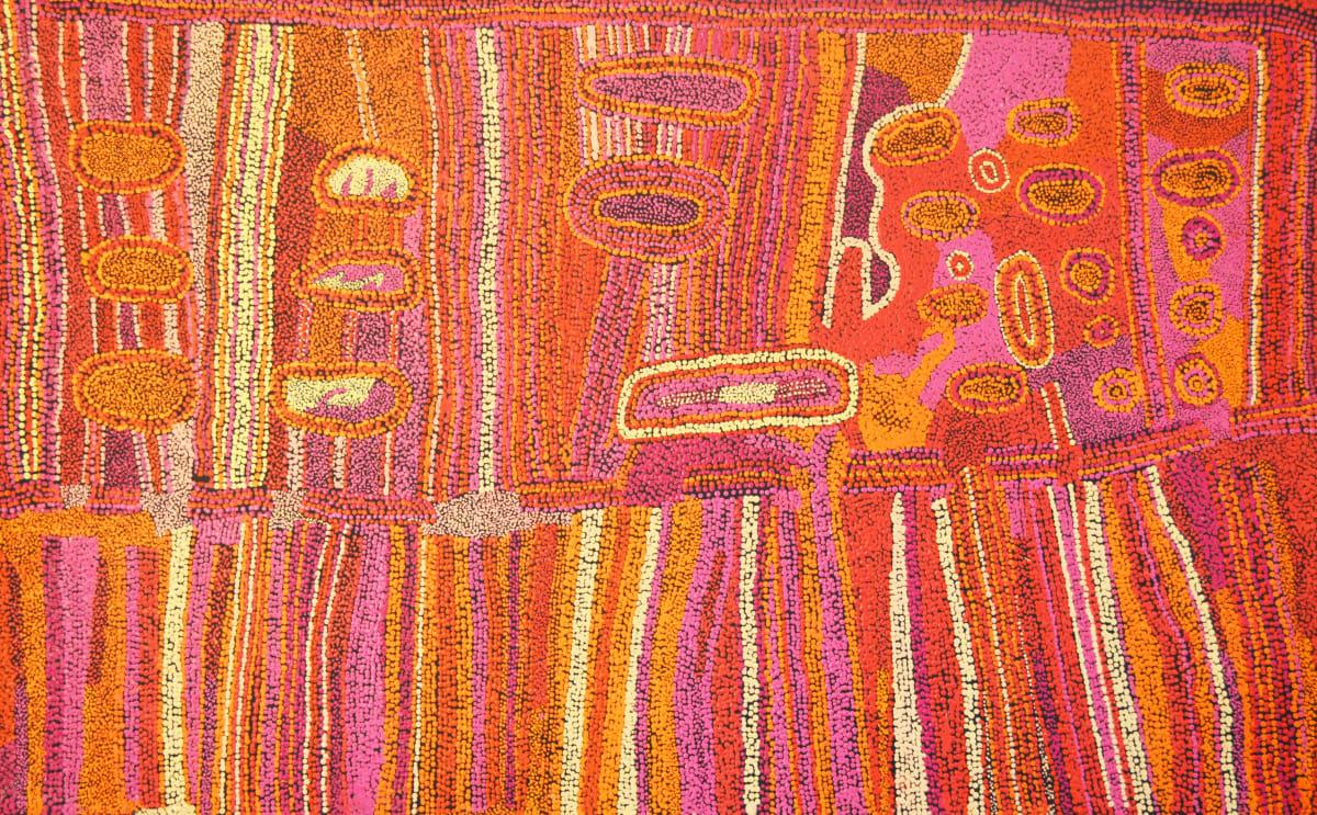 Bernard Tjalkuri Kalaya Tjuta acrylic on canvas 122 x 76 cm