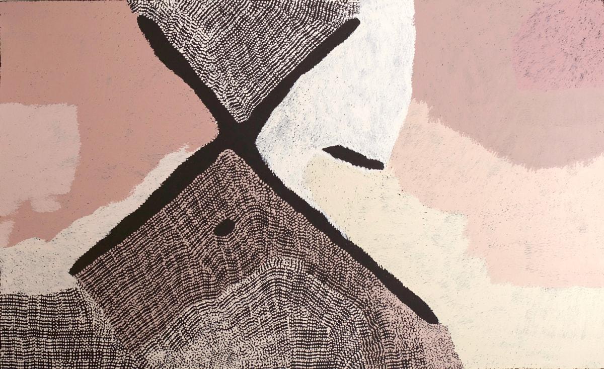 Pepai Jangala Carroll Yumari, 2019 acrylic on linen 122 x 198 cm