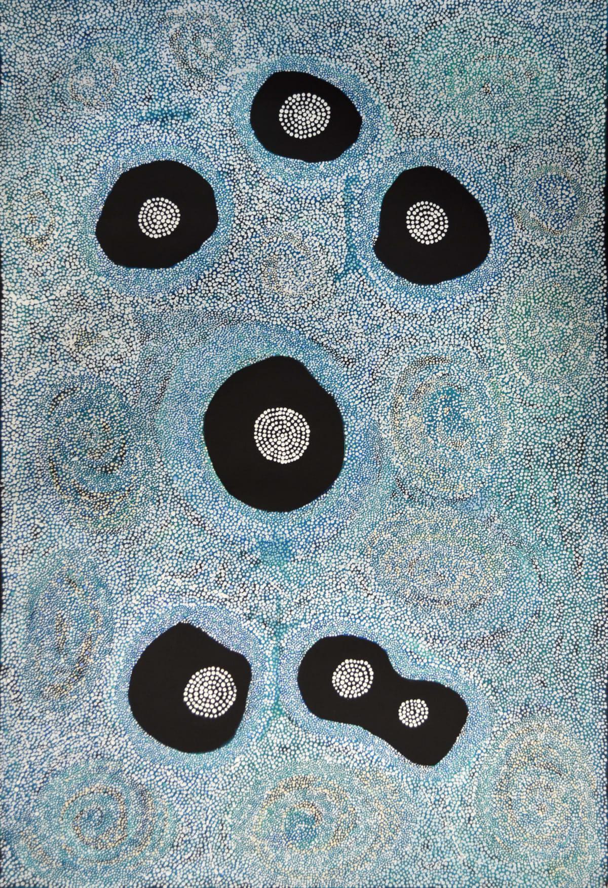 Ingrid Treacle Kungkarangkalpa acrylic on linen 153 x 102 cm