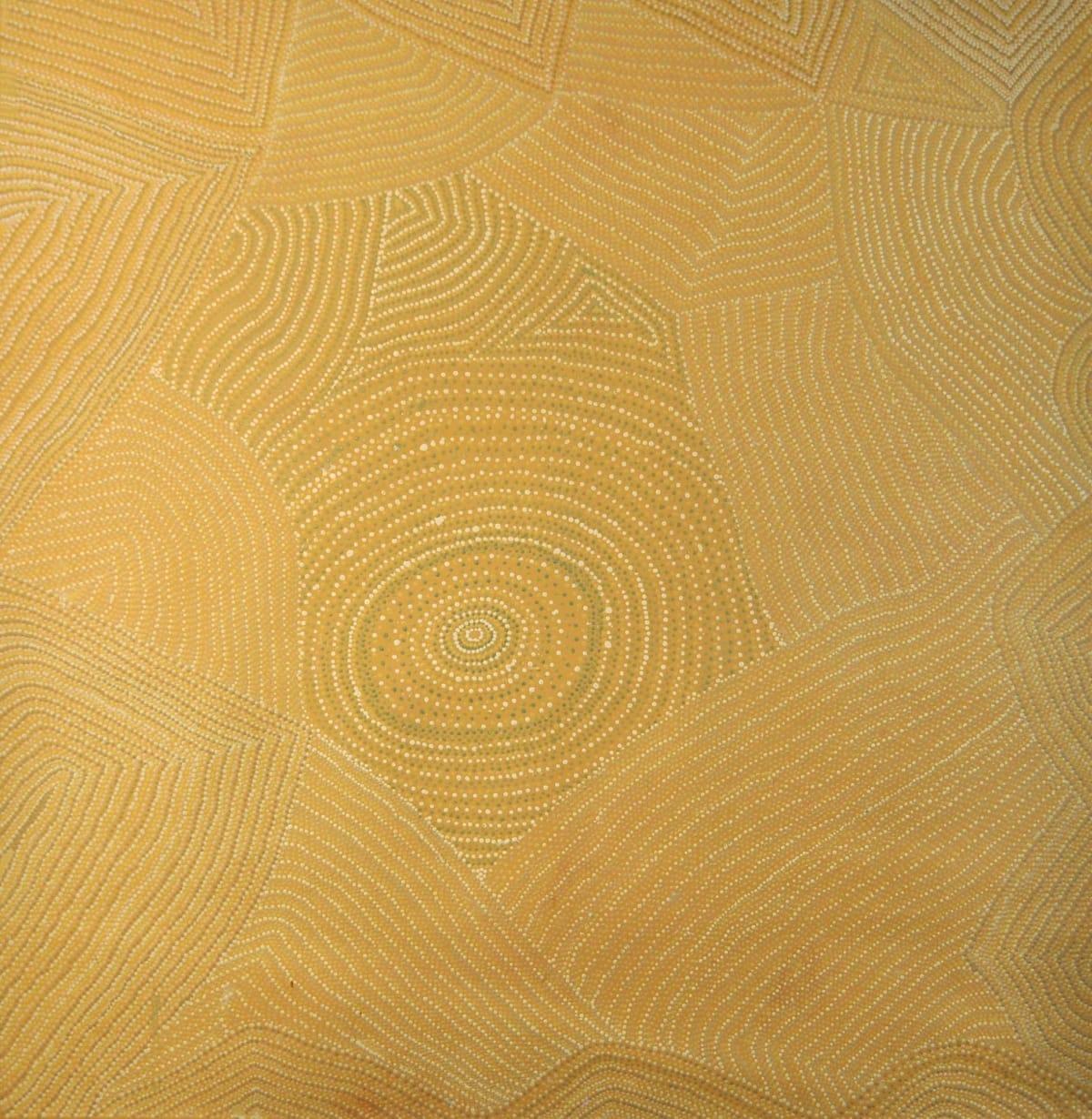 Pepai Jangala Carroll Walungurru acrylic on canvas 180 x 170 cm
