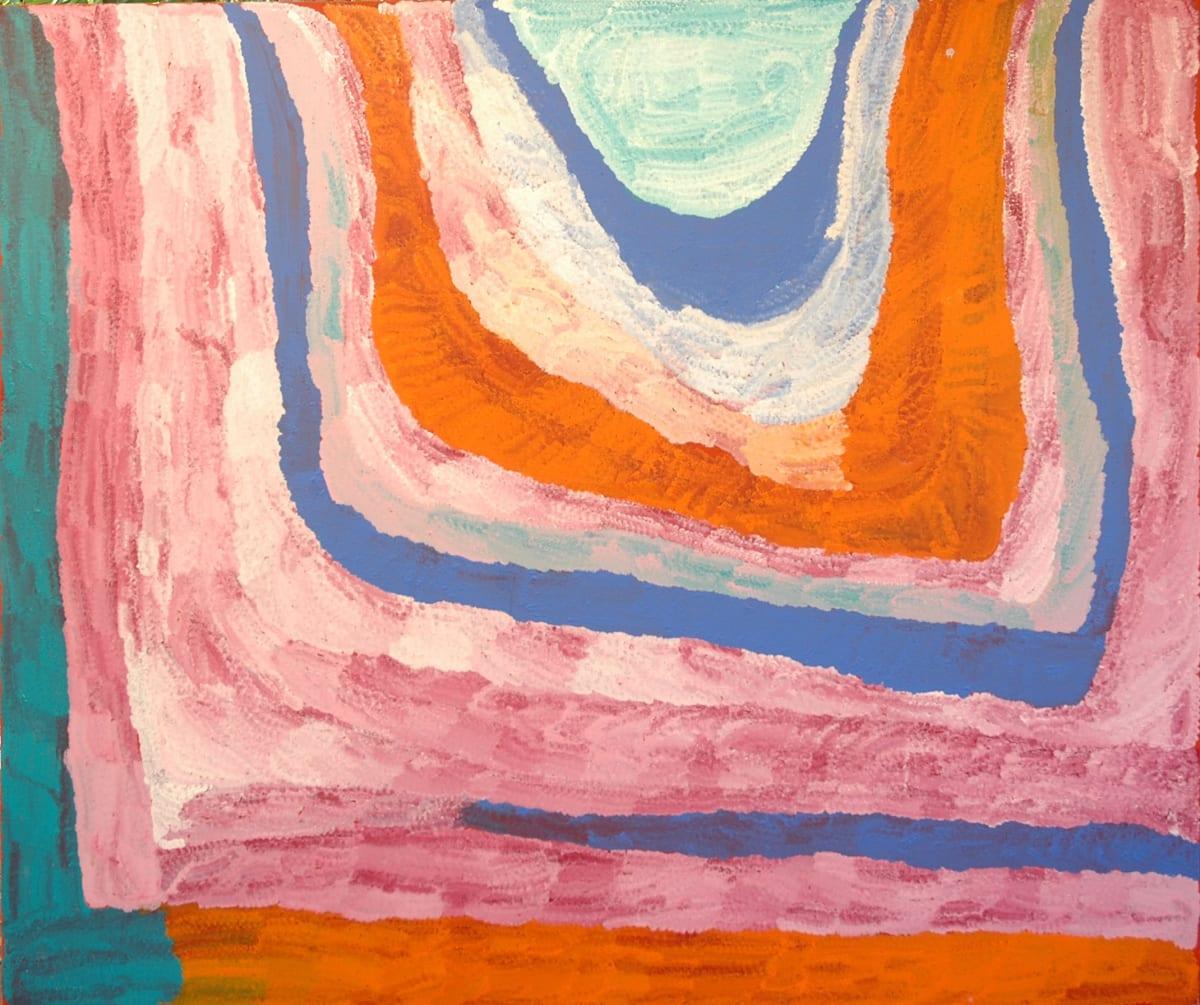 Lydia Balbal Winpa acrylic on linen 150 x 180 cm