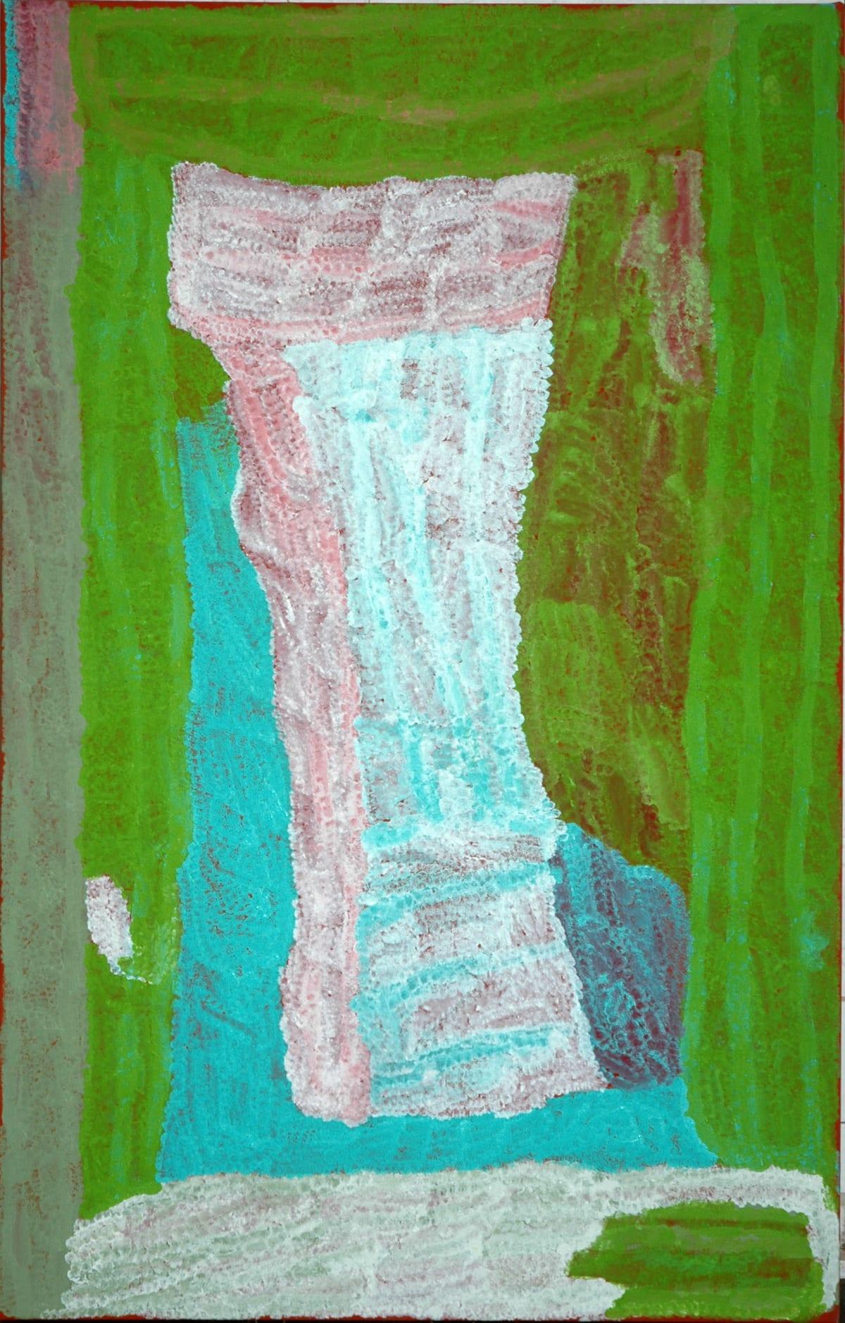 Lydia Balbal Bin Bin acrylic on canvas 122 x 76 cm